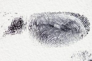 a fingerprint for a fingerprint card application